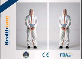 Disposable Coverall Suit Protective Clothing Overalls For Food Medical Lab Use