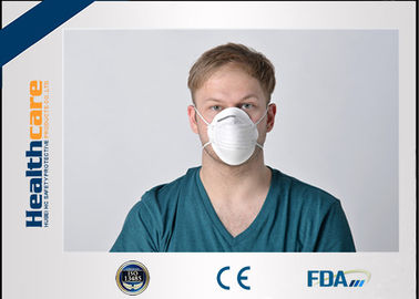 Dust Proof Disposable Face Mask FFP1 FFP2 FFP3 Grade 3D Cup Shape With Respirator