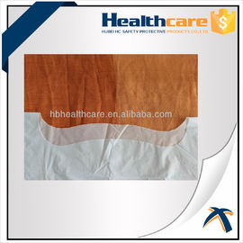 Antibacterial Disposable Protective Gowns / CPE Isolation Gown With Thumb Up