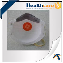 China Verschmutzungs-Maske PM2.5 Earloop Wegwerf-der Gesichtsmaske-NIOSH N95 mit Ausatmungsventil usine